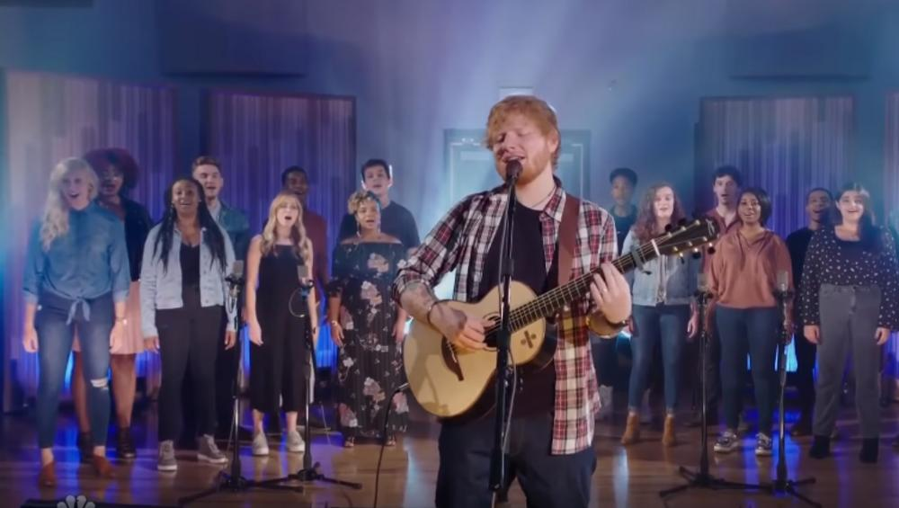Ed Sheeran coveruje wielki hit! Mega wykon! [VIDEO]
