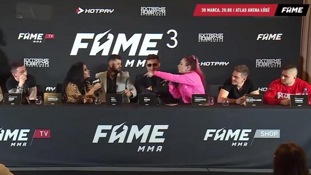 Fame MMA 3: awantura na konferencji prasowej [VIDEO]