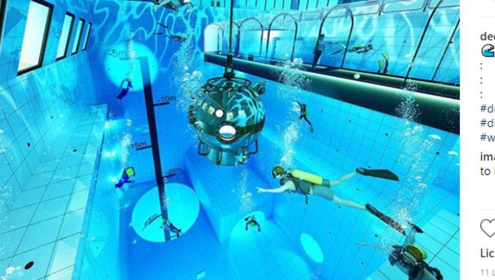 W Polsce powstaje najgłębszy basen świata! Wiemy gdzie