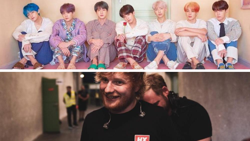 BTS i Ed Sheeran w duecie! Make It Right już w sieci