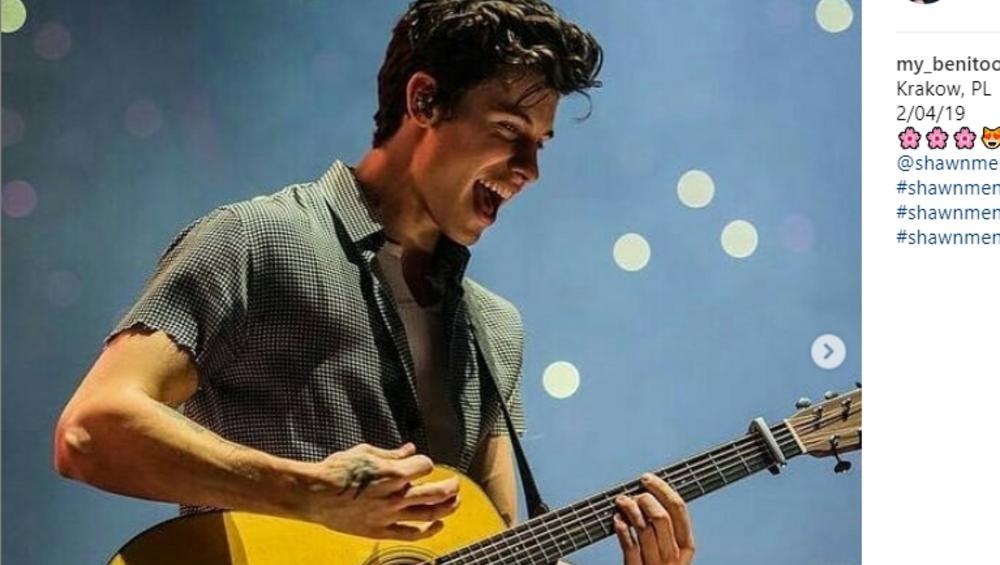 Shawn Mendes w Krakowie wyznał miłość na scenie! [ZDJĘCIA + WIDEO]
