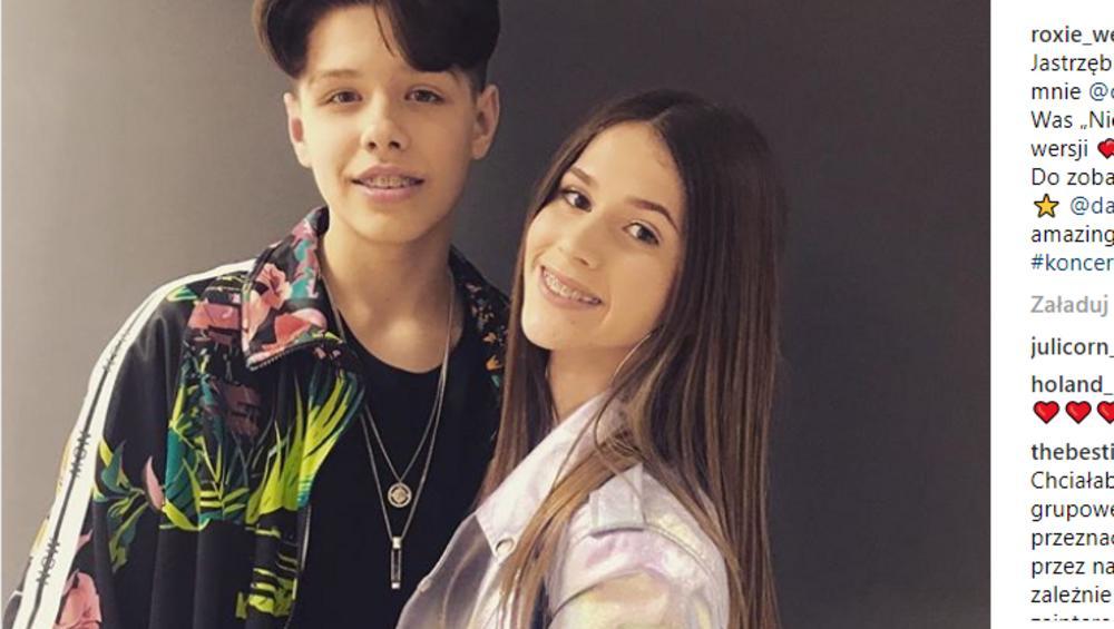 Roksana Roxie Węgiel i jej chłopak to gwiazdorska para Eurowizji!