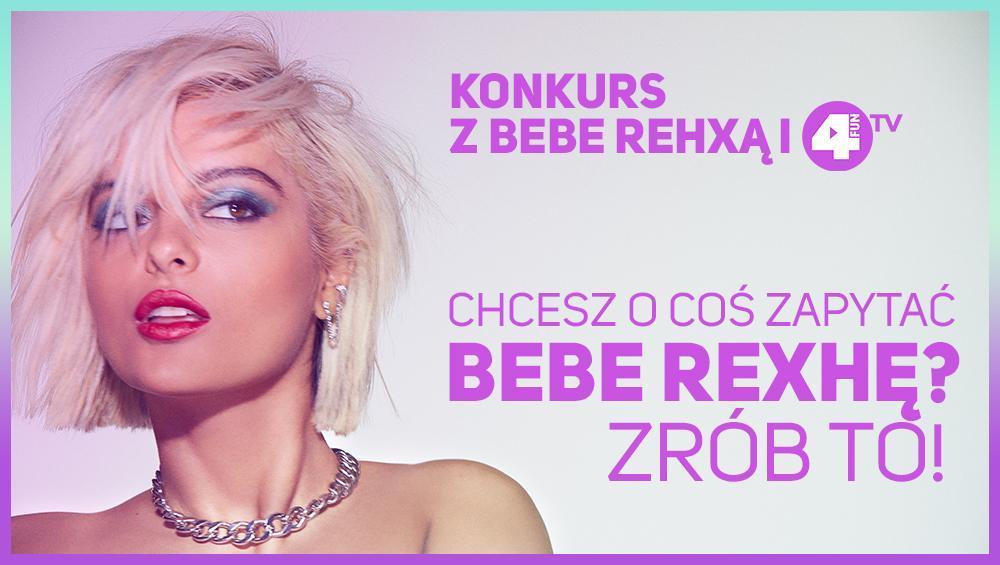 Bebe Rexha odpowie na Wasze pytania osobiście! O co chcecie ją zapytać?