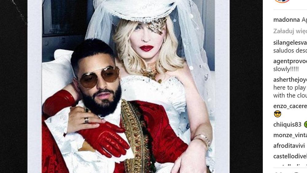 Madonna i Maluma w DUECIE! Posłuchaj Medellin