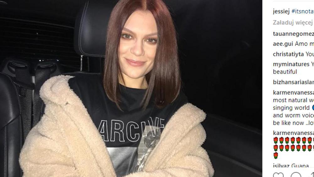 Jessie J NAGO na Instagramie. Nie jest sama!