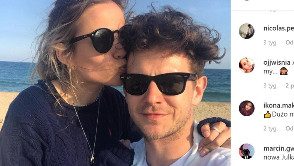 Dziewczyna Antka Królikowskiego nie wstydzi się miłości na Instagramie!