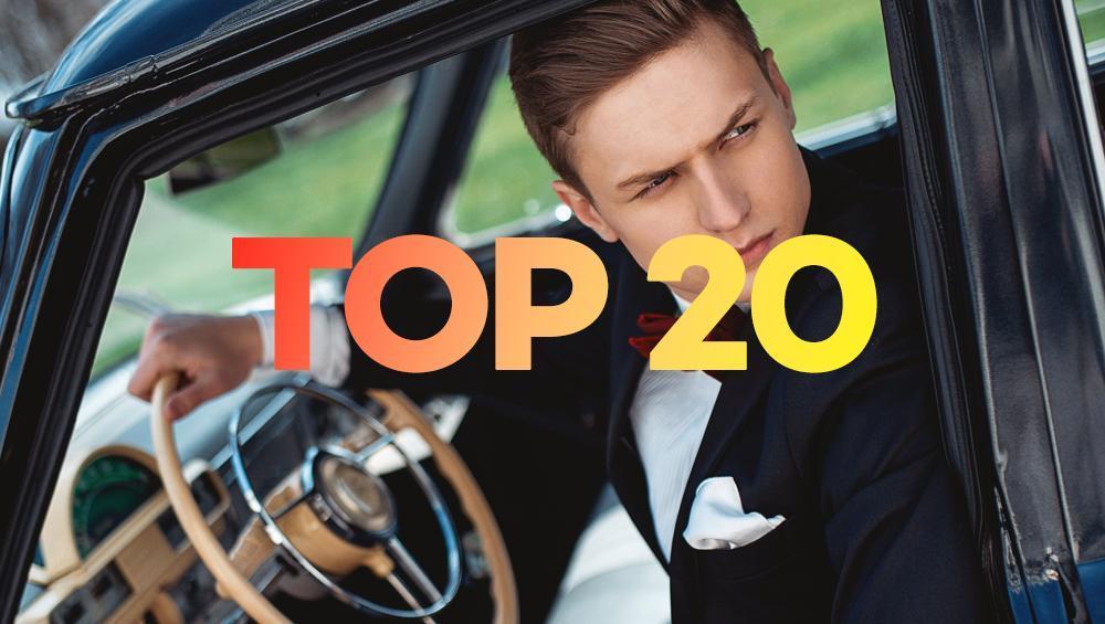 TOP 20:  Mister Polski Jan Dratwicki przejmuje notowanie!