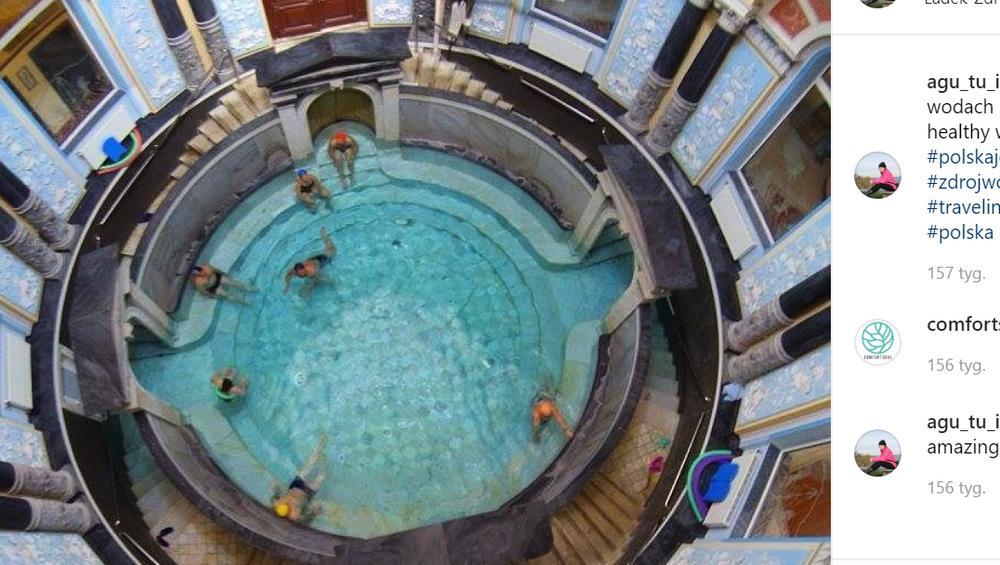 Najpiękniejszy basen w Polsce. Chcielibyście tam pojechać? [ZDJĘCIA]