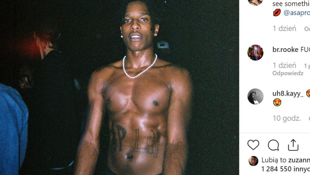 A$AP Rocky wdał się w bójkę w Szwecji! Co z koncertem w Polsce?