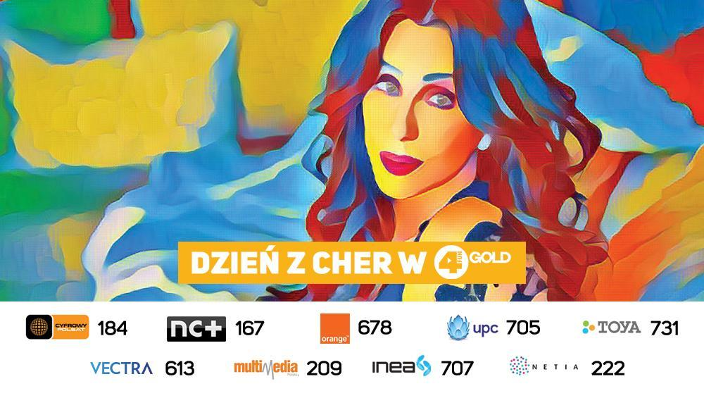 Dzień z Cher w 4FUN Gold