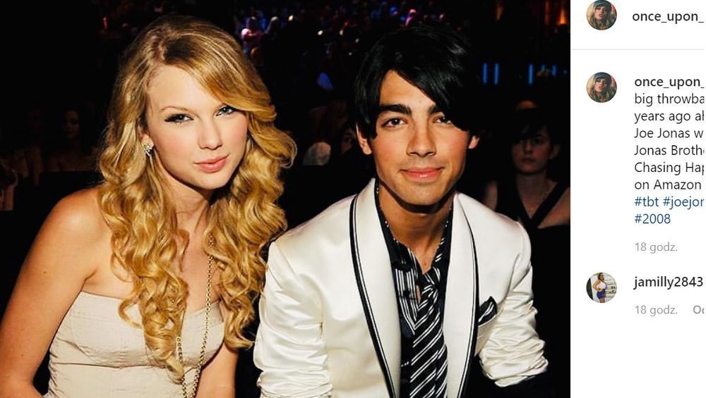Taylor Swift przeprosiła Joe Jonasa za wydarzenie sprzed 10 lat. Pogodzili się?