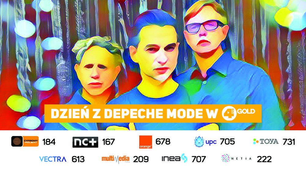 Dzień z Depeche Mode w 4FUN Gold