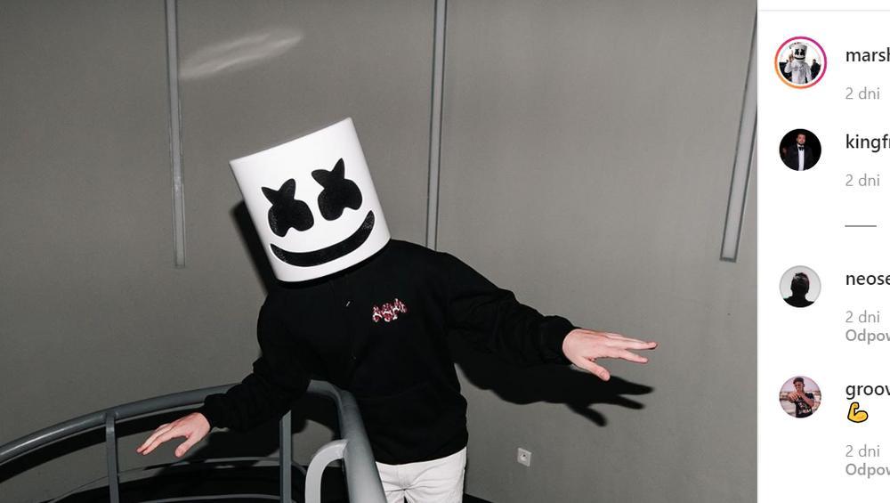 Marshmello zagrał w duecie z Polakiem! Znają się od dawna