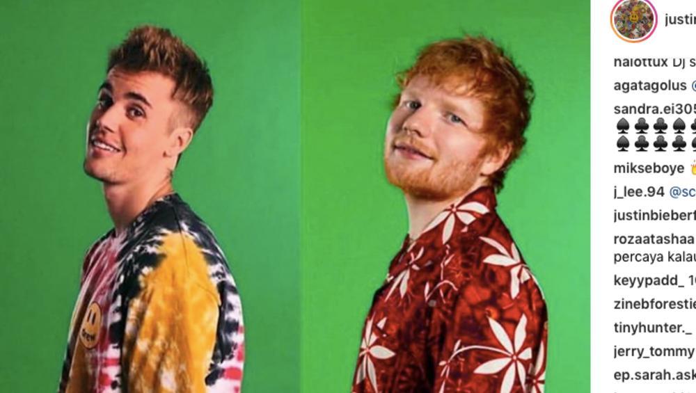 Justin Bieber i Ed Sheeran w duecie! Potwierdzili współpracę