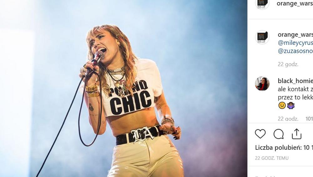 Miley Cyrus: 4 rzeczy, którymi wkurzyła fanów w Polsce