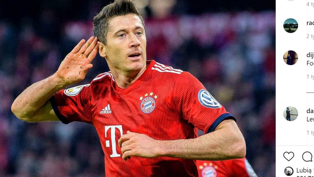 Lewandowski na koszulce syna światowej gwiazdy! [FOTO]