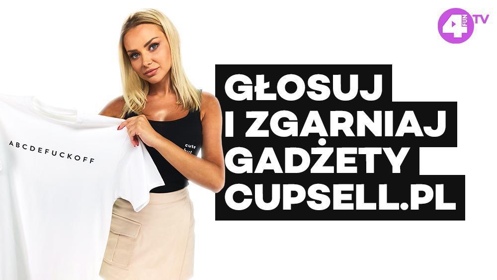 GŁOSUJ W ULUBIONEJ 20 I ZGARNIAJ GADŻETY OD CUPSELL.PL!