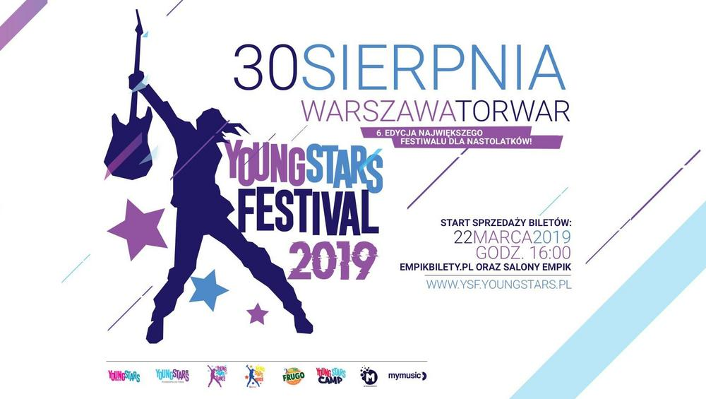 Young Stars Festival 2019 – kto wystąpi? [BILETY, LINE UP]
