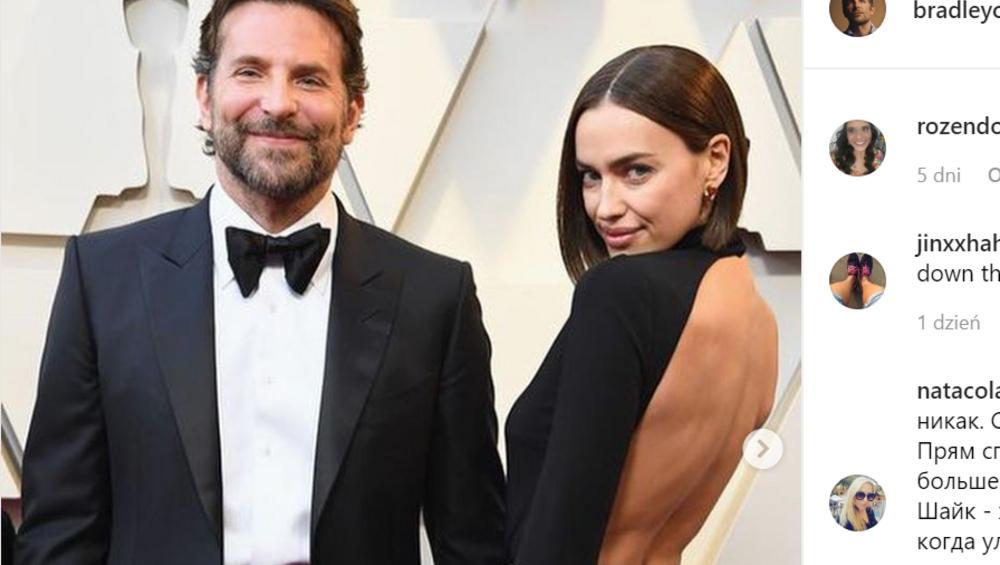 Bradley Cooper i Irina Shayk zerwali? Lady Gaga ma wolną drogę