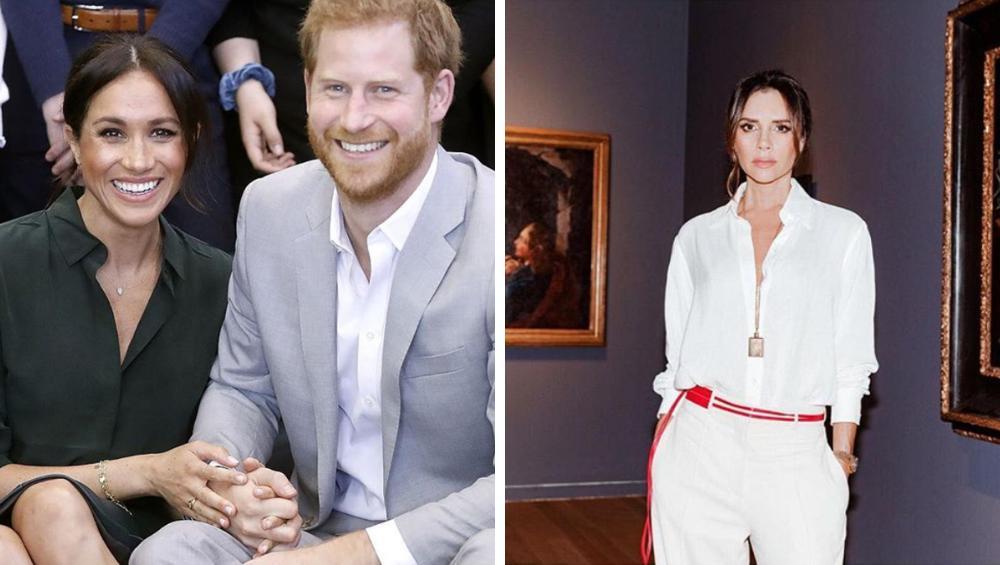 Victoria Beckham będzie chrzestną Royal Baby?!