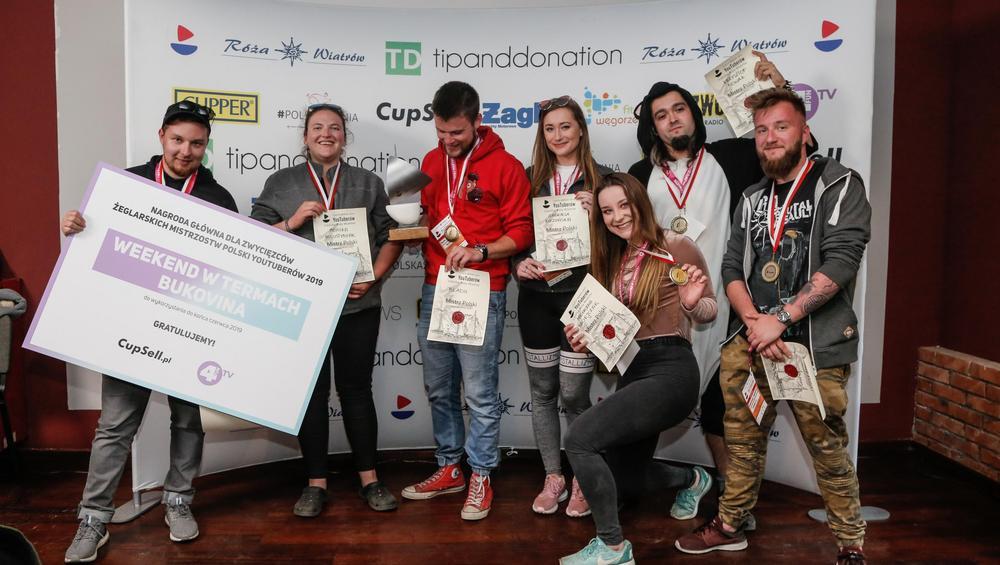 Regaty YouTuberów: Znamy Mistrzów Polski V edycji!