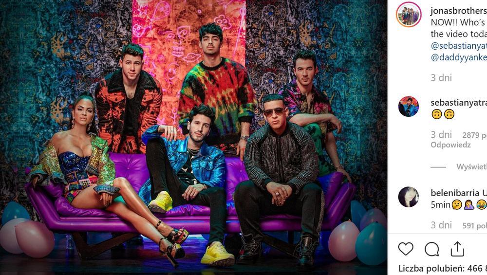 Jonas Brothers śpiewają po hiszpańsku! To pierwszy raz w historii [WIDEO]