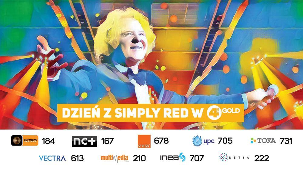Dzień z Simply Red w 4FUN Gold