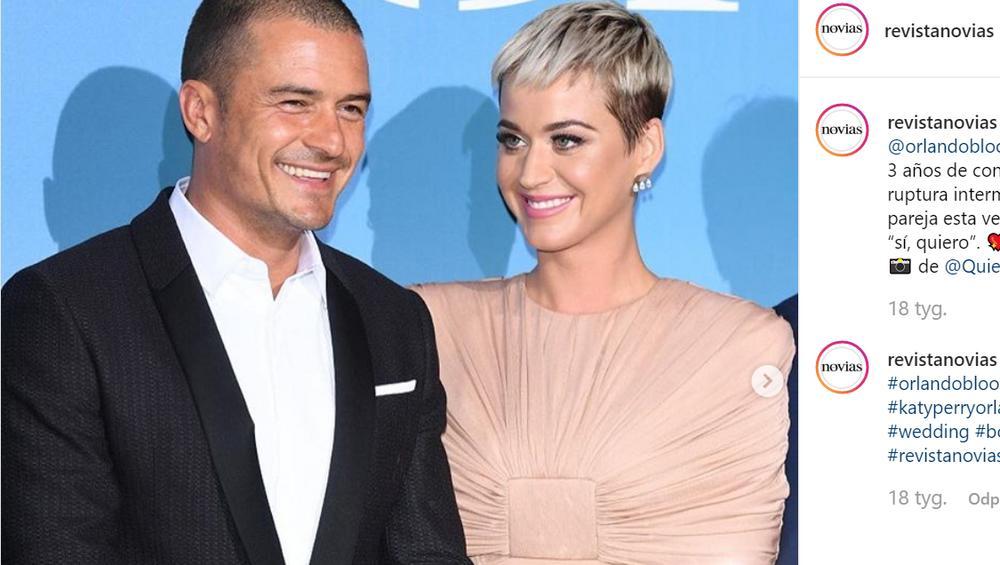 Katy Perry i Orlando Bloom: ślub jeszcze w tym roku?