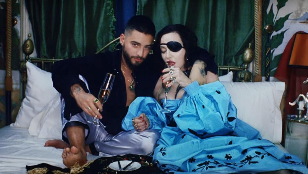 Madonna i Maluma zszokowali fanów. Zobacz MEDELLIN