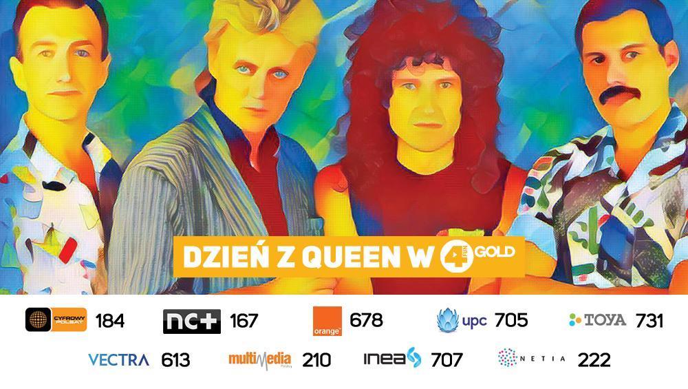 Dzień z Queen w 4FUN Gold