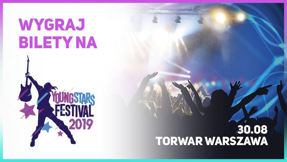 Oglądaj 4FUN.TV i zgarnij bilety na Young Stars Festival!