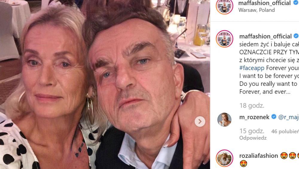 Polskie gwiazdy kochają FaceAPP i sprawdzają jak będą wyglądać na starość. Zobacz najlepsze zdjęcia