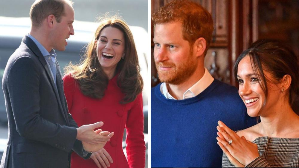 Dlaczego William i Kate unikają Harry'ego i Meghan?