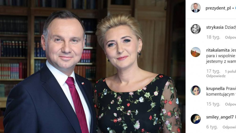Amerykański zespół zrobił klip z żoną polskiego prezydenta