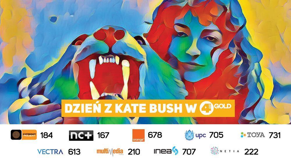 Dzień z Kate Bush w 4FUN Gold