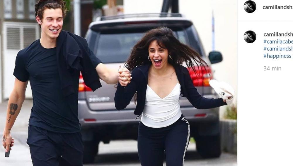Shawn Mendes i Camila Cabello całują się w kawiarni. Fani są zniesmaczeni WIDEO