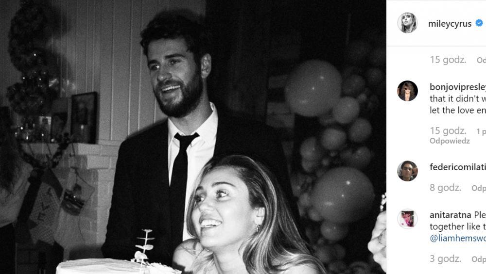 """Miley Cyrus: """"Zawsze będę go kochała"""". Jest oświadczenie gwiazdy"""