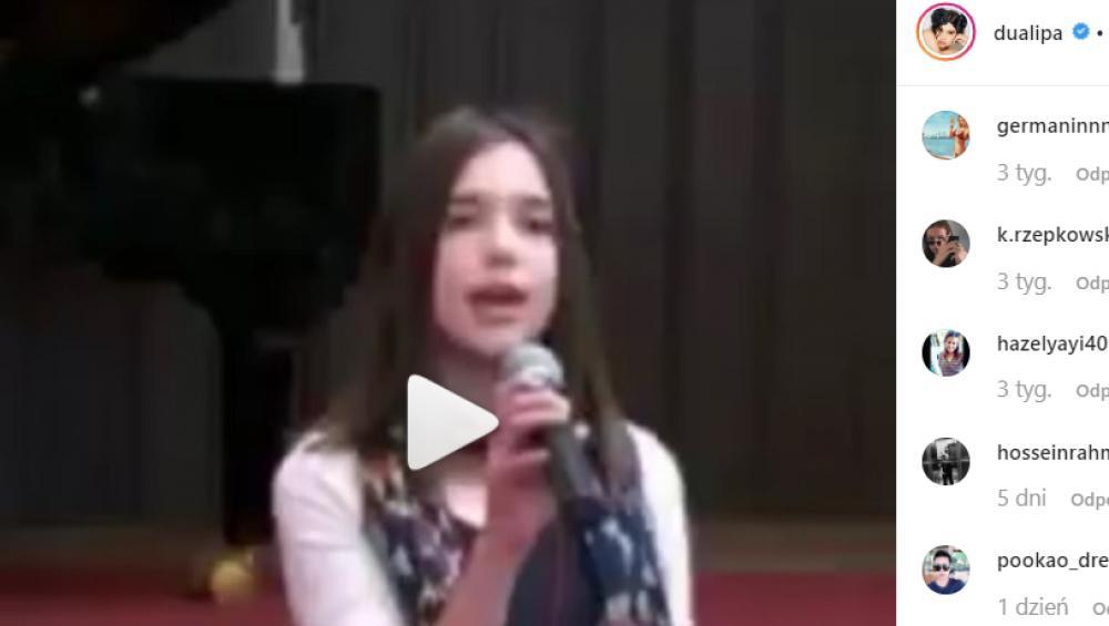 Mała Dua Lipa śpiewa hit Alicii Keys! Miała zadatki na gwiazdę?