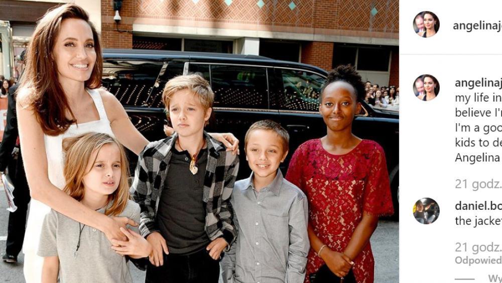"""Angelina Jolie ma dziwne metody wychowawcze? """"Dzieci są skrępowane"""""""