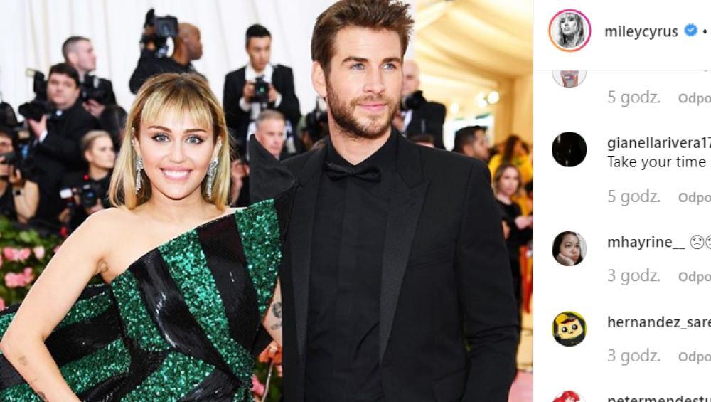 """Liam Hemsworth o rozstaniu z Miley Cyrus. """"Życzę jej szczęścia"""""""