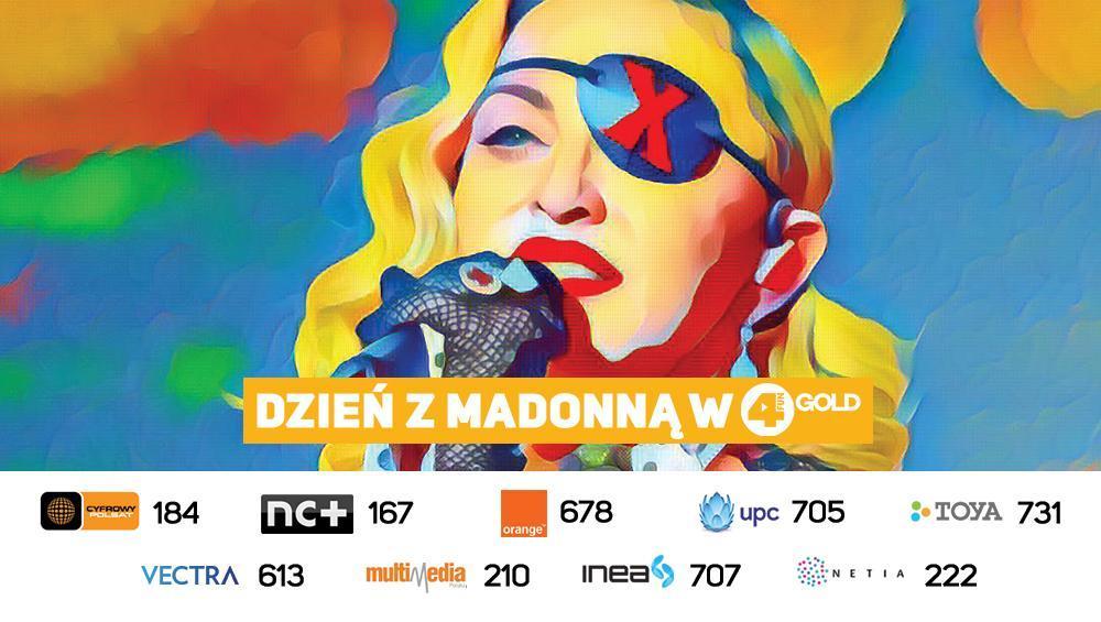 Dzień z Madonną w 4FUN Gold