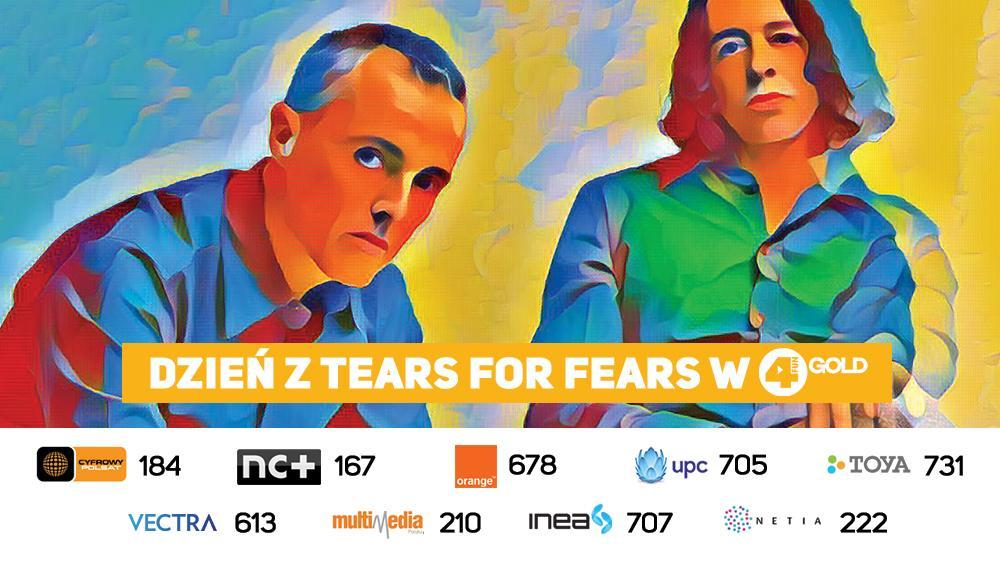 Dzień z Tears For Fears w 4FUN Gold