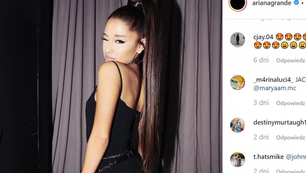 Hit! Ariana Grande reklamuje polską szkołę!