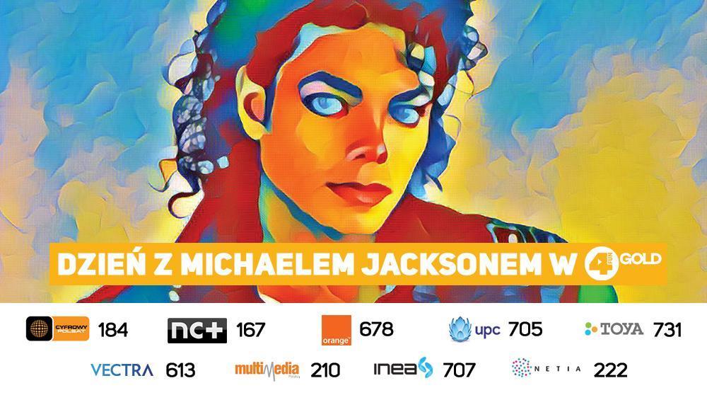 Dzień z Michaelem Jacksonem w 4FUN Gold