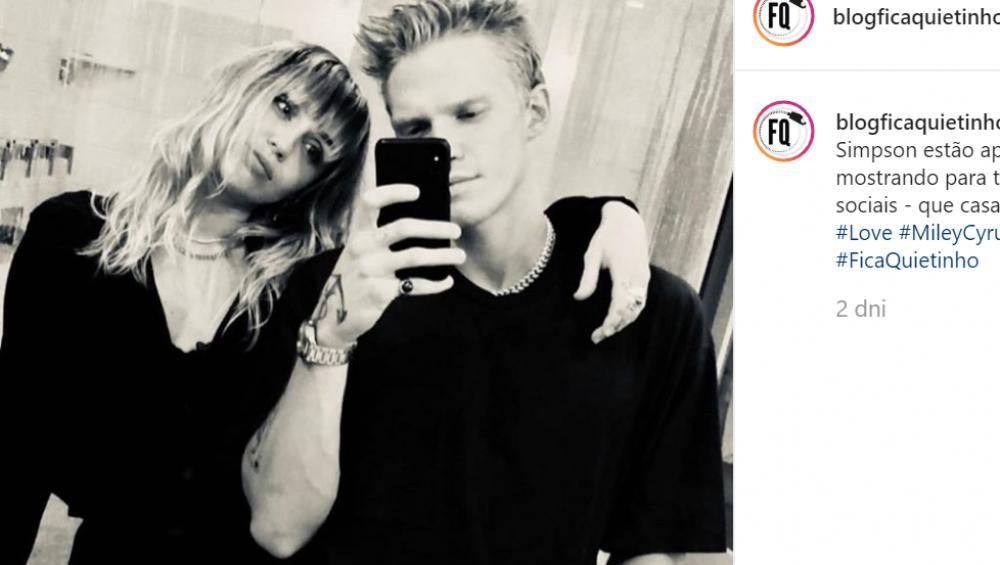 Miley Cyrus i Cody Simpson mają nowe tatuaże!