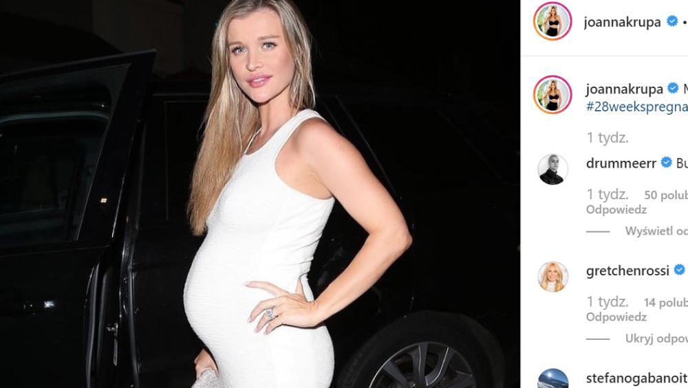 """Joanna Krupa zdradziła płeć dziecka! """"Mój mąż się popłakał"""""""