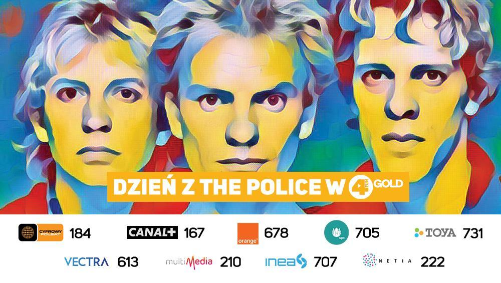 Dzień z The Police w 4FUN Gold