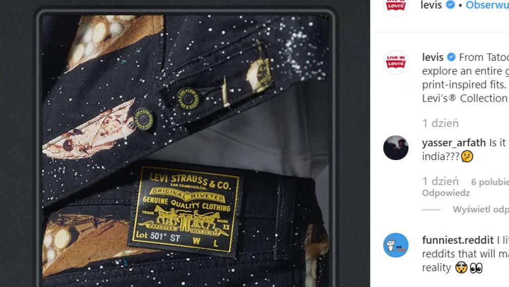 Star Wars x Levi's: nadchodzi kolekcja dla fanów Gwiezdnych Wojen!