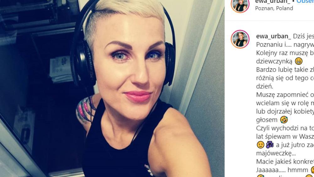 Ewa Urban: ma fajne tatuaże i pracowała z wieloma gwiazdami