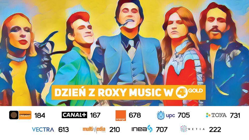 Dzień z Roxy Music w 4FUN Gold